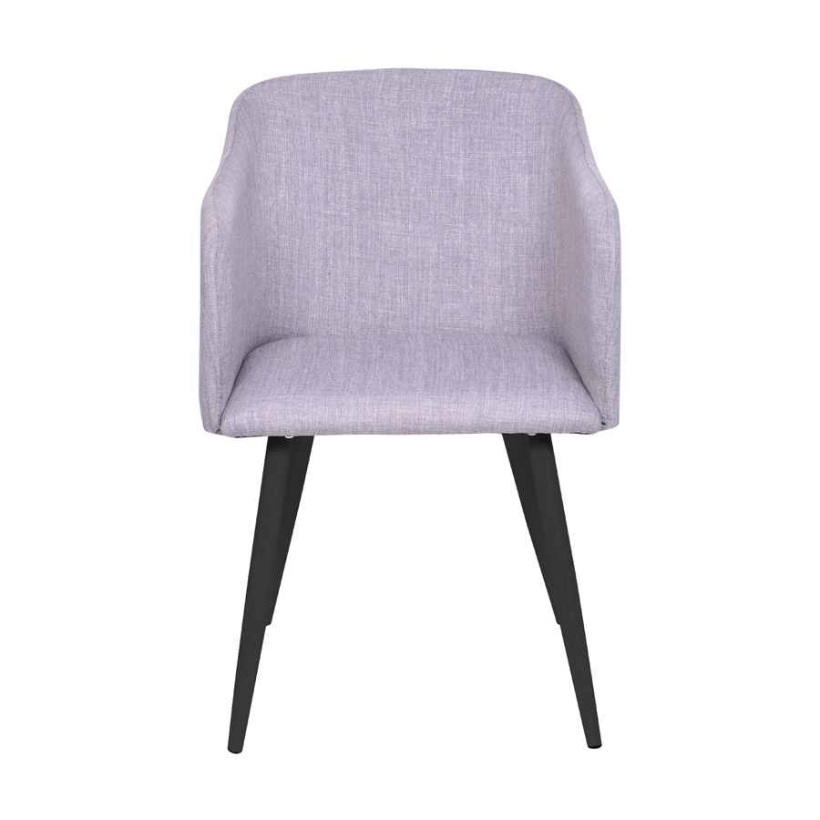Cadeira Charla com Braço Base Preta Or Design