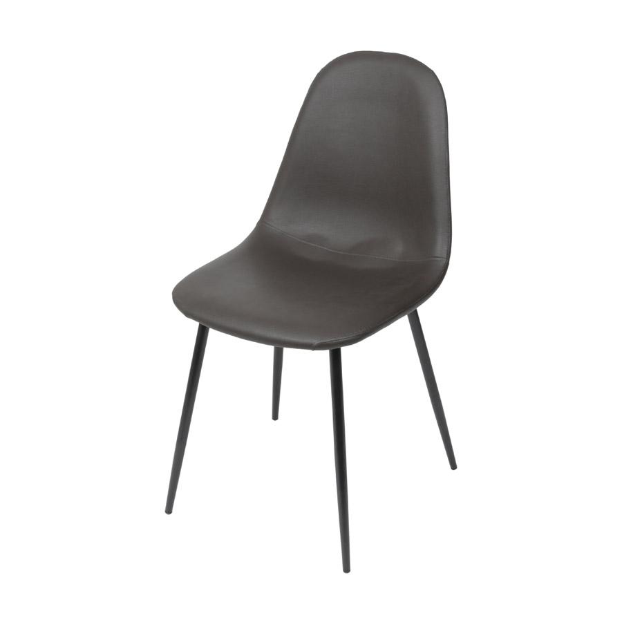 Cadeira Charla PU Base Preta Or Design