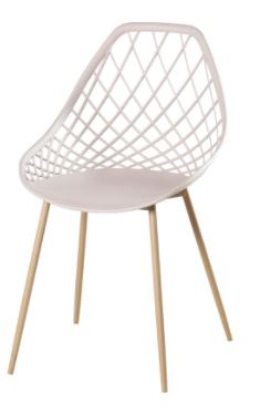 Cadeira Cloe Base Aço Rivatti
