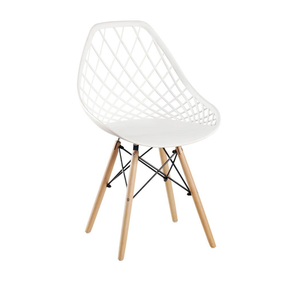Cadeira Cloe Base Madeira Rivatti