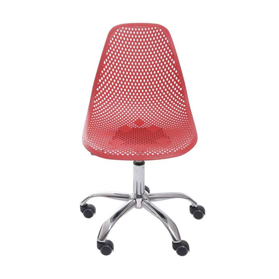 Cadeira Colmeia Base Rodízio Or Design
