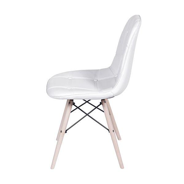 Cadeira DKR Botonê Base Madeira Clara Or Design