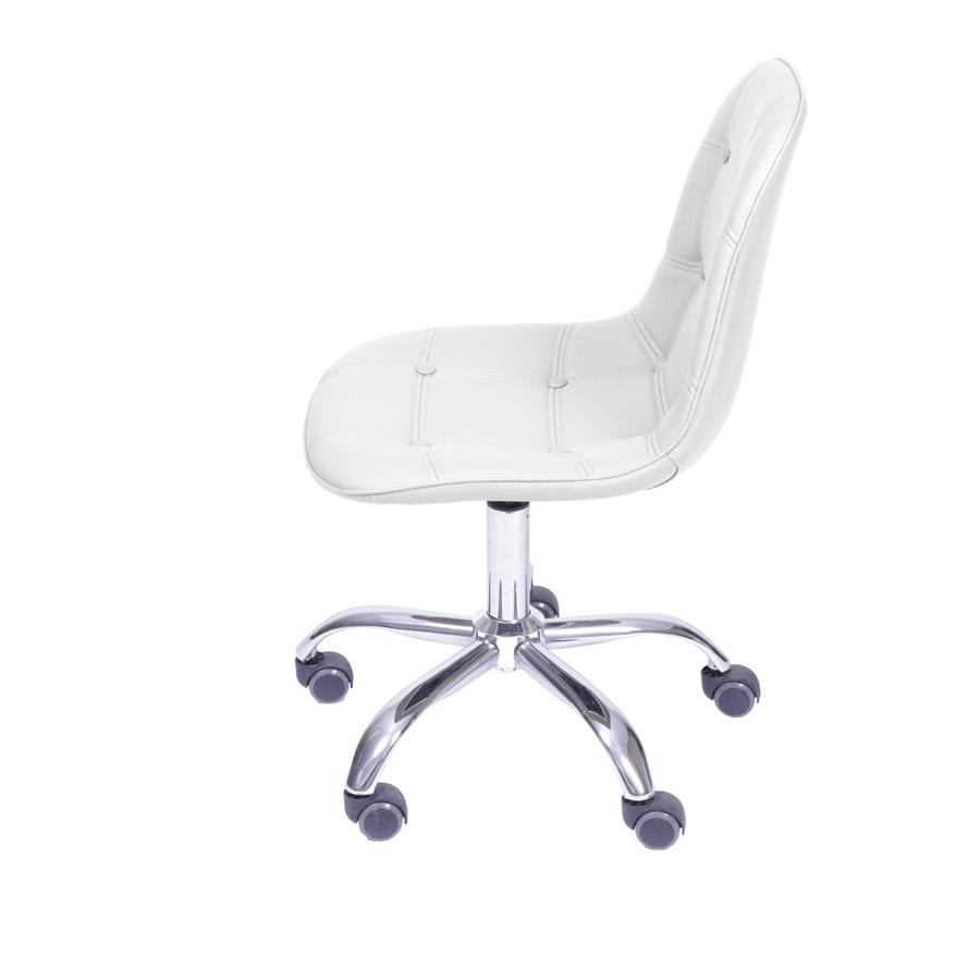 Cadeira Eames Botonê Base Rodízio Or Design