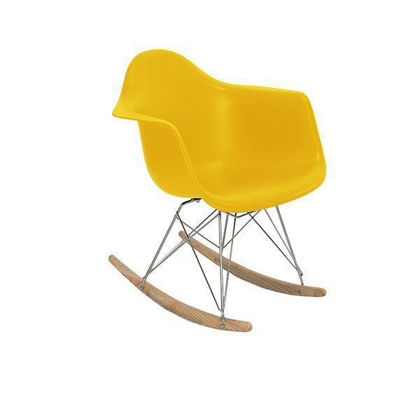 Cadeira DKR PP com Braço Balanço Or Design