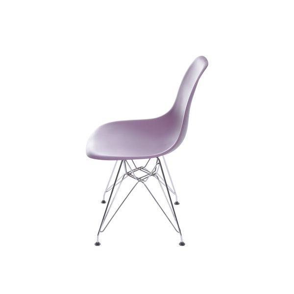 Cadeira DKR Polipropileno Base Cromada Or Design