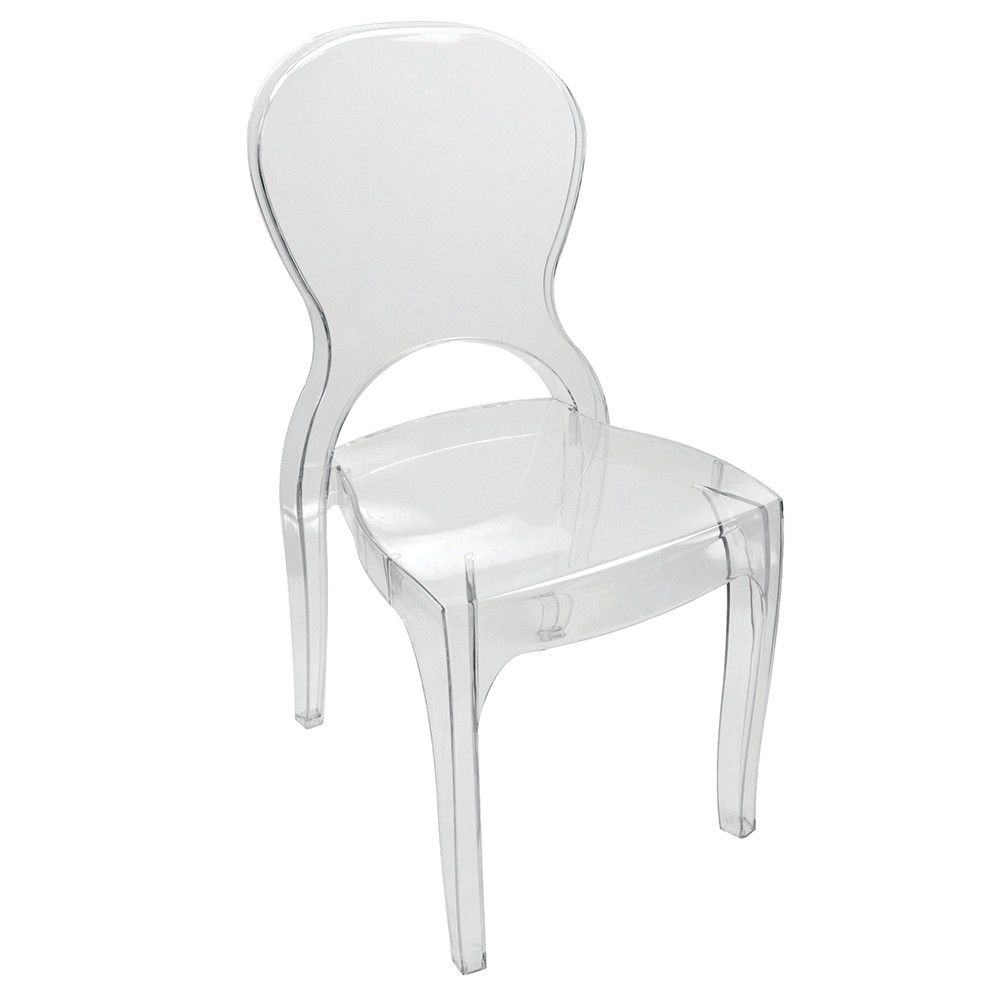 Cadeira Elegance Sem Braço Plasútil Rivatti