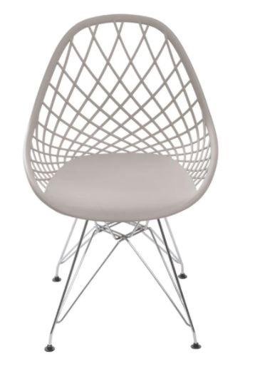 Cadeira Kaila Base Cromada Or Design
