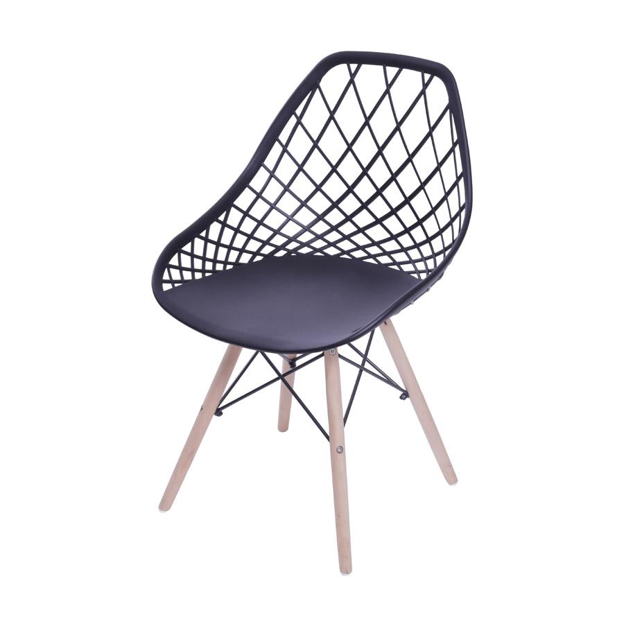 Cadeira Kaila Base Madeira Or Design