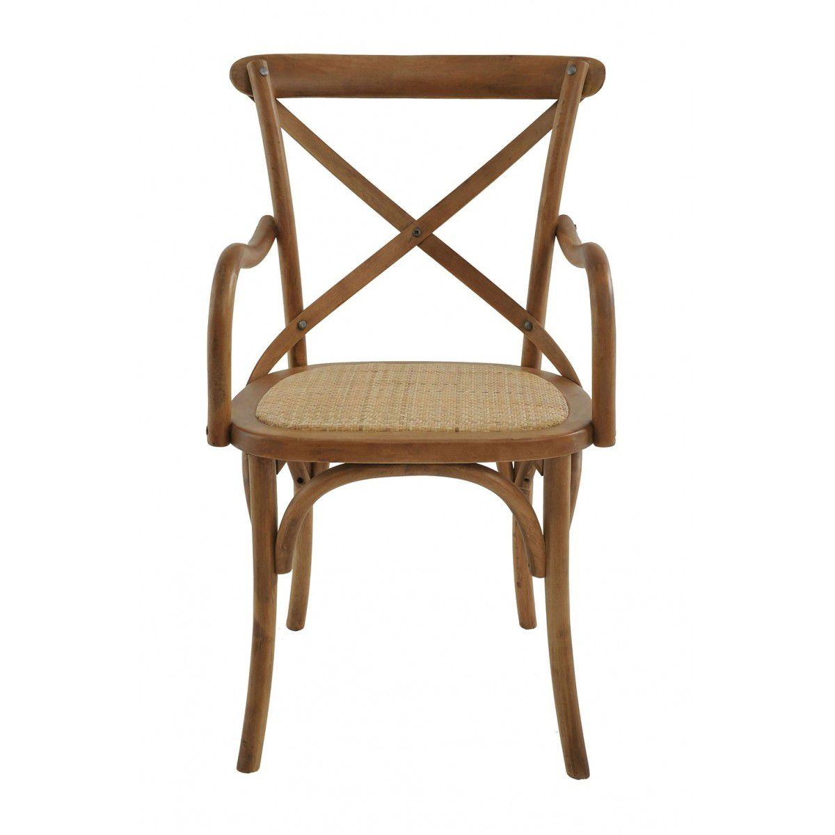 Cadeira Katrina Com Braço Bétula Rivatti