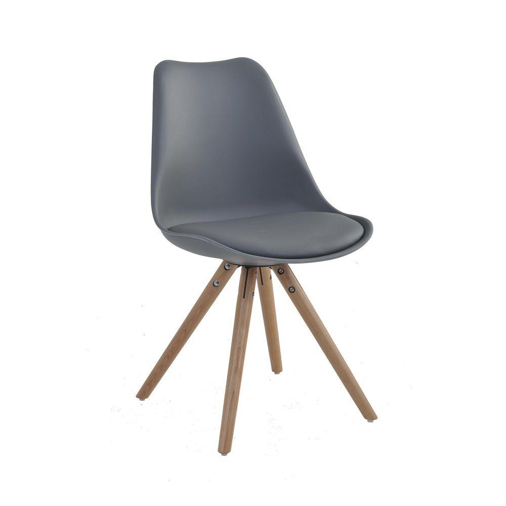 Cadeira Luísa Base Madeira Rivatti