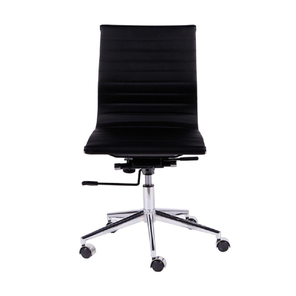 Cadeira Office Esteirinha Baixa sem Braço Or Design