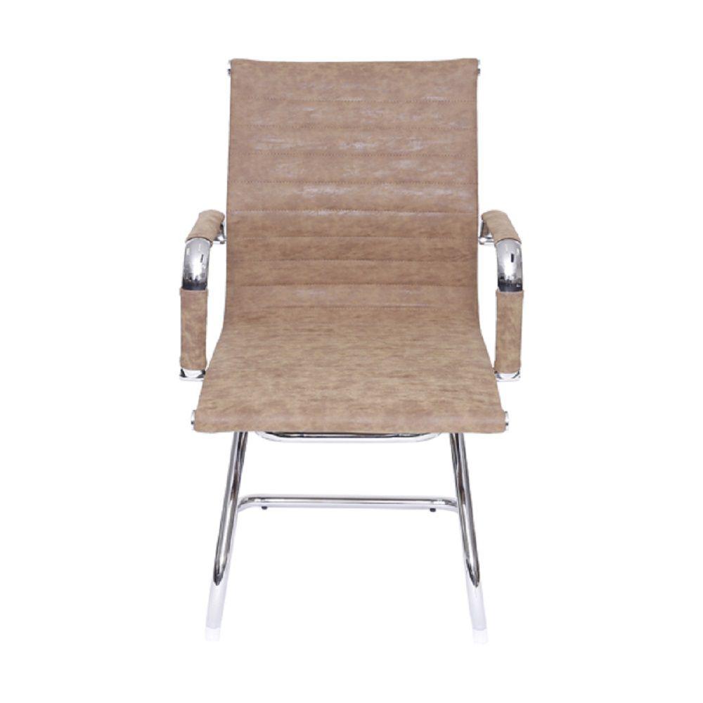 Cadeira Office Esteirinha Fixa Retrô Or Design