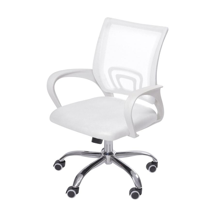 Cadeira Office Tok Branca Or Design