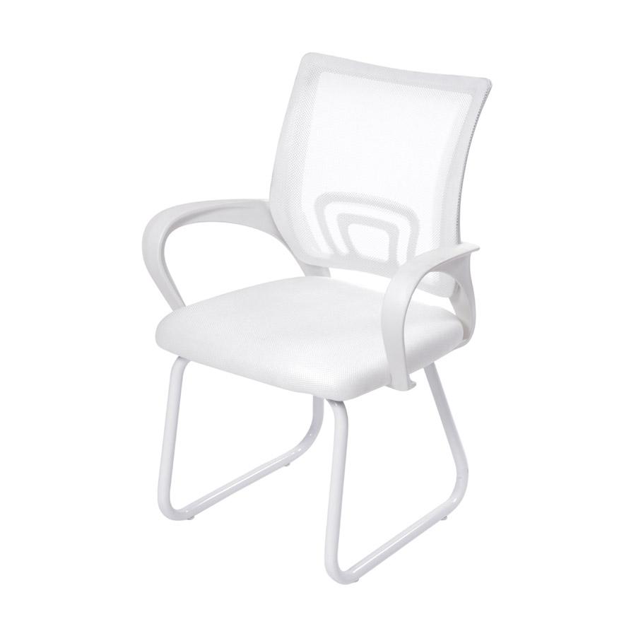 Cadeira Office Tok Fixa Branca Or Design
