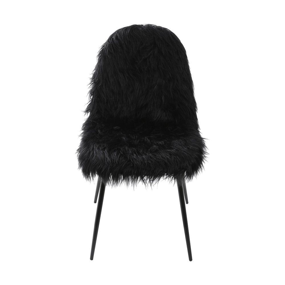 Cadeira Glamour Pelo Sintético Or Design