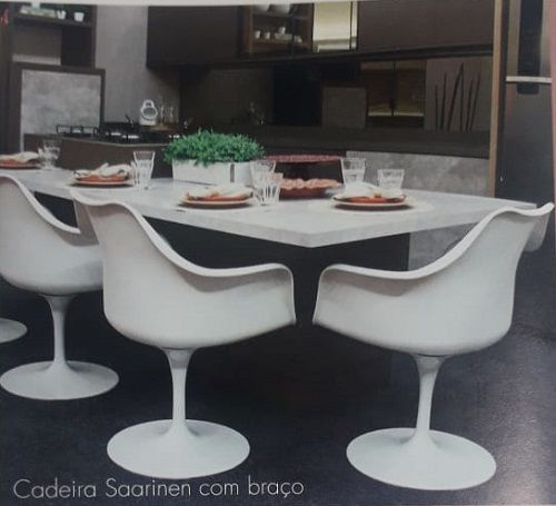 Cadeira Saarinen Com Braço Rivatti