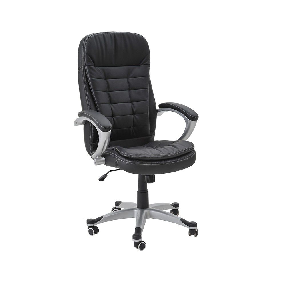 Cadeira Office Segóvia PU Preto Rivatti