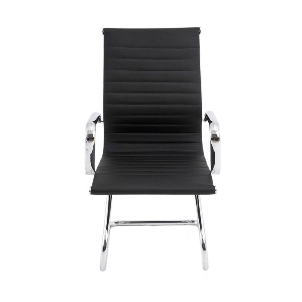 Cadeira Office Sevilha PU Baixa Fixa Rivatti