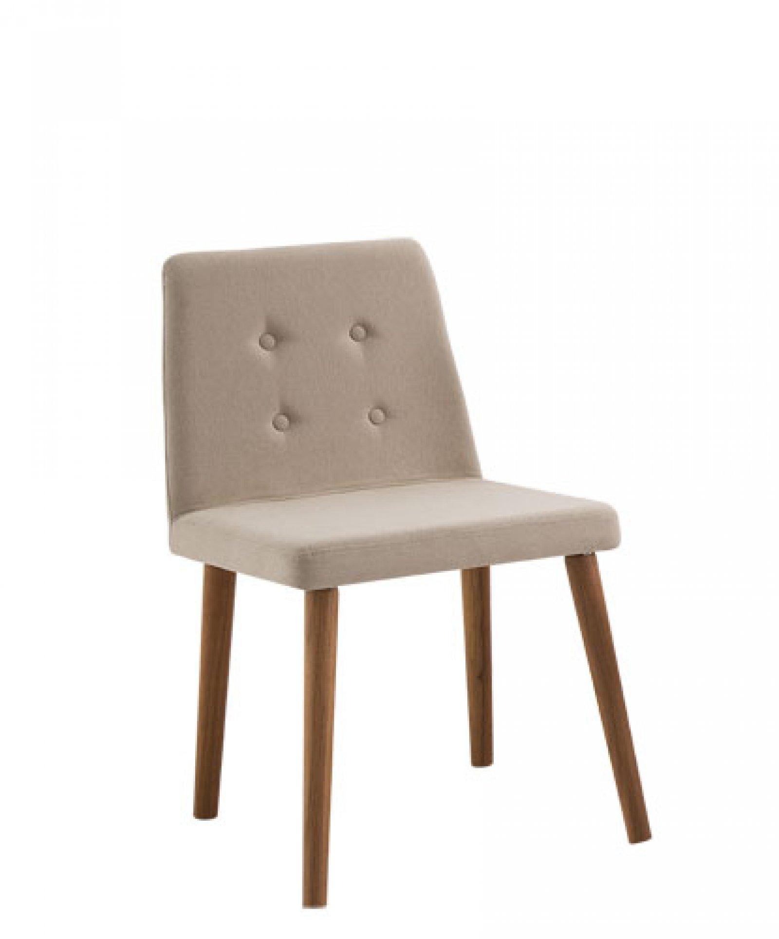 Cadeira Vega Bege Tecido  DAF