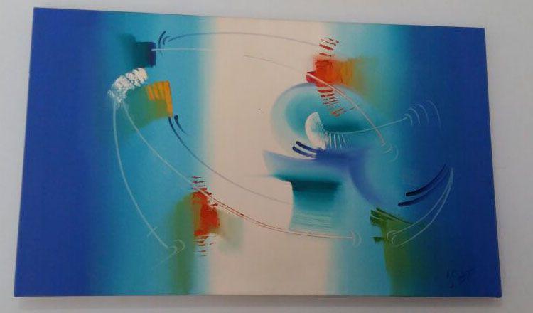 Quadro Painel Abstrato Pronta Envio