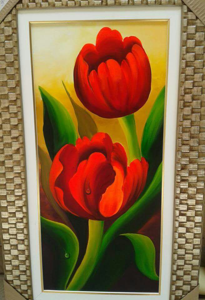 Quadro Painel de Tulipa