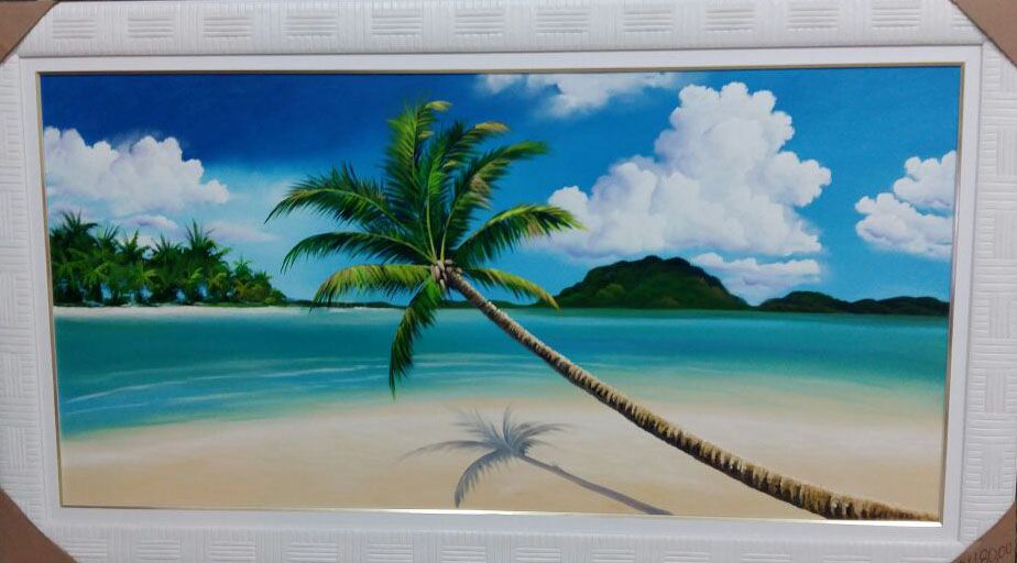 Quadro Pintado Em tela Paisagem