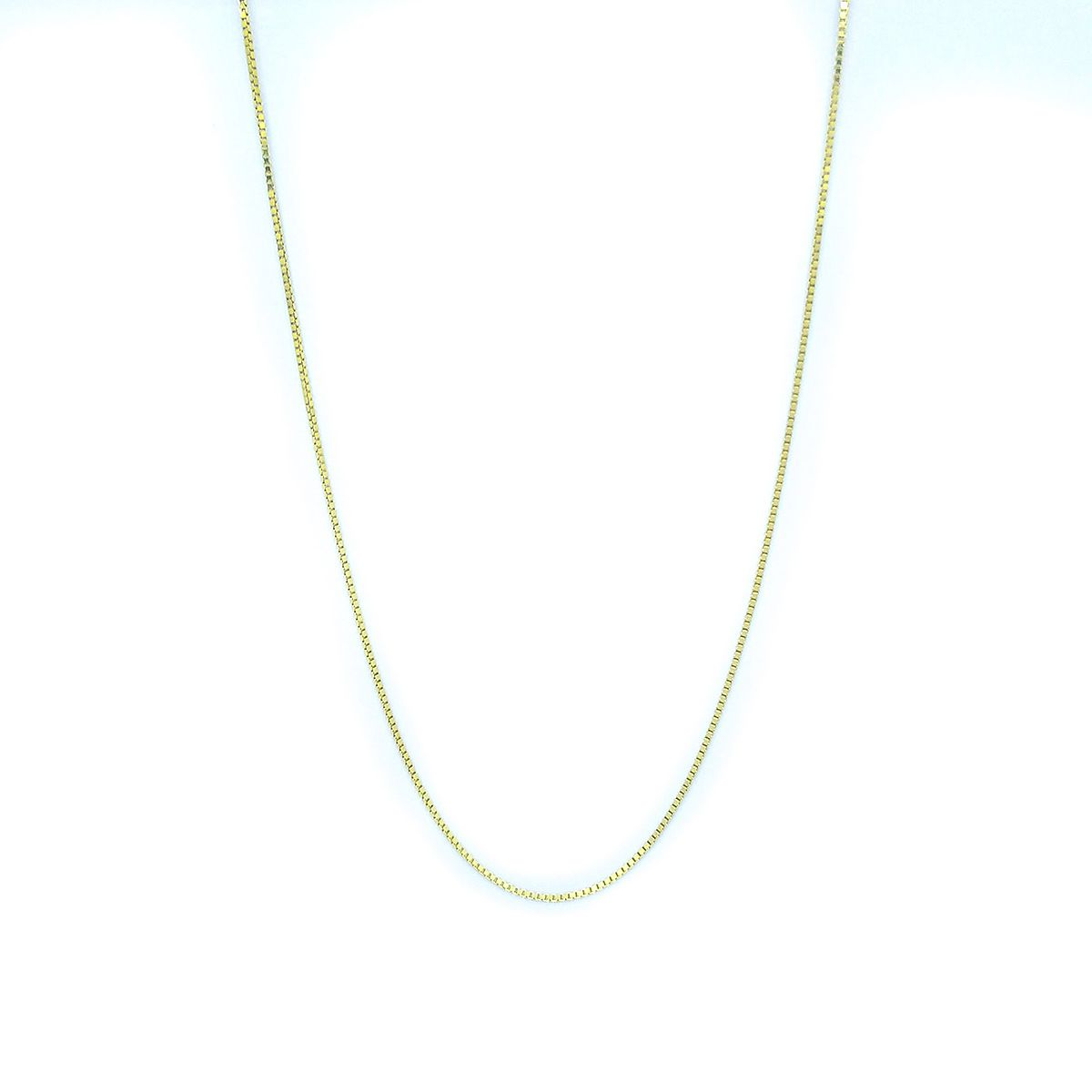 Corrente Veneziana em Ouro 18K - 50cm fina
