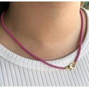 Colar Colors Veneziana Rosa