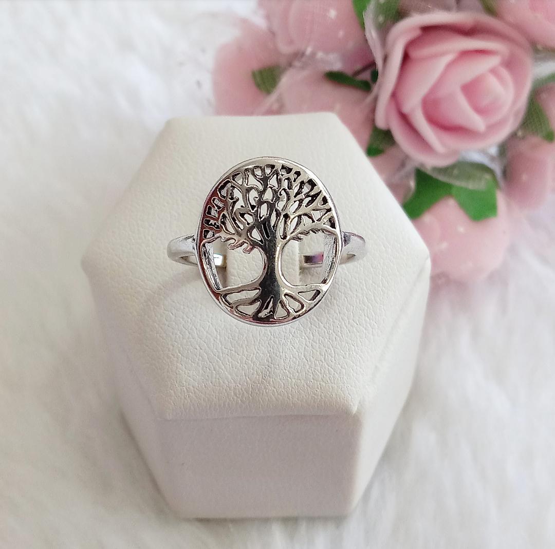 Anel Árvore Da Vida Envelhecida