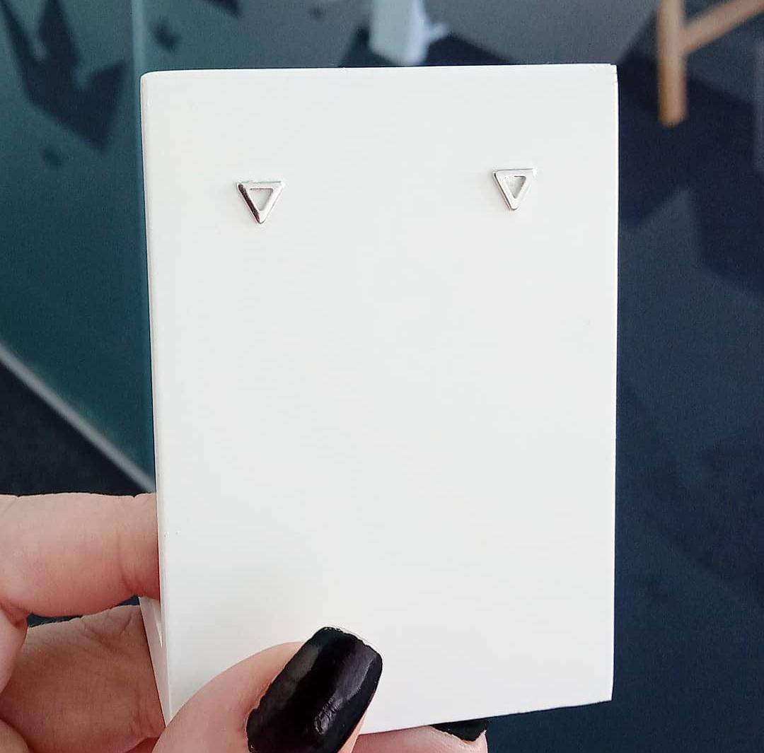 Brinco Mini Triângulo