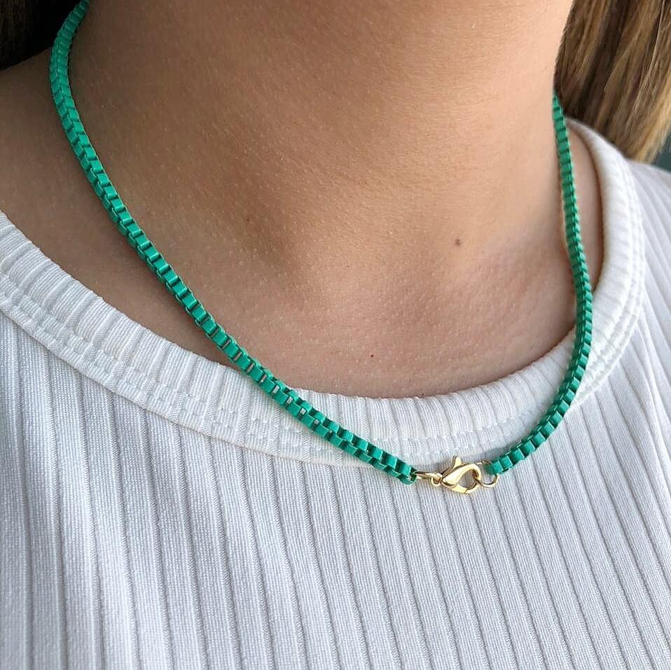 Colar Colors Veneziana Verde