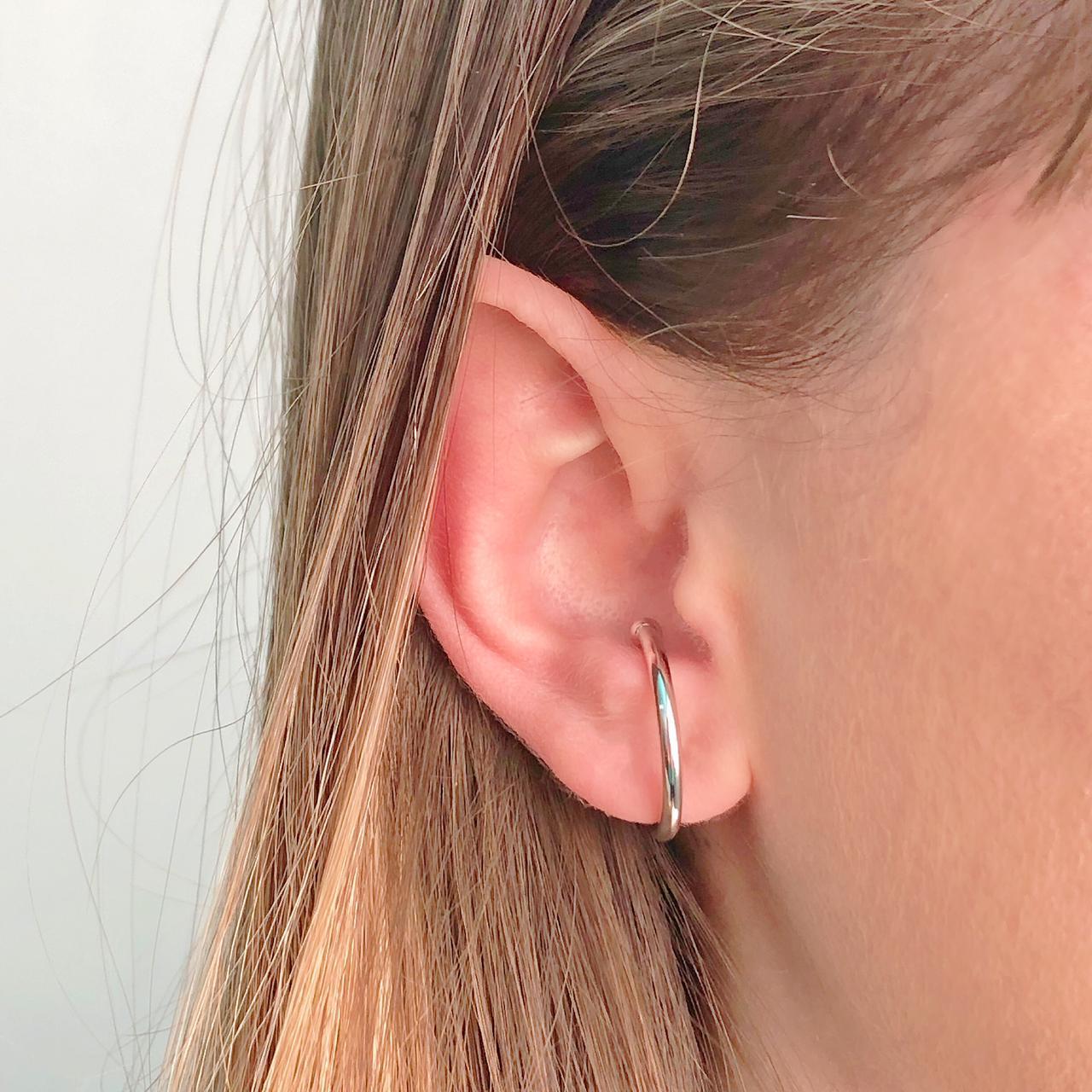 Piercing Fake Argola Grande Lisa