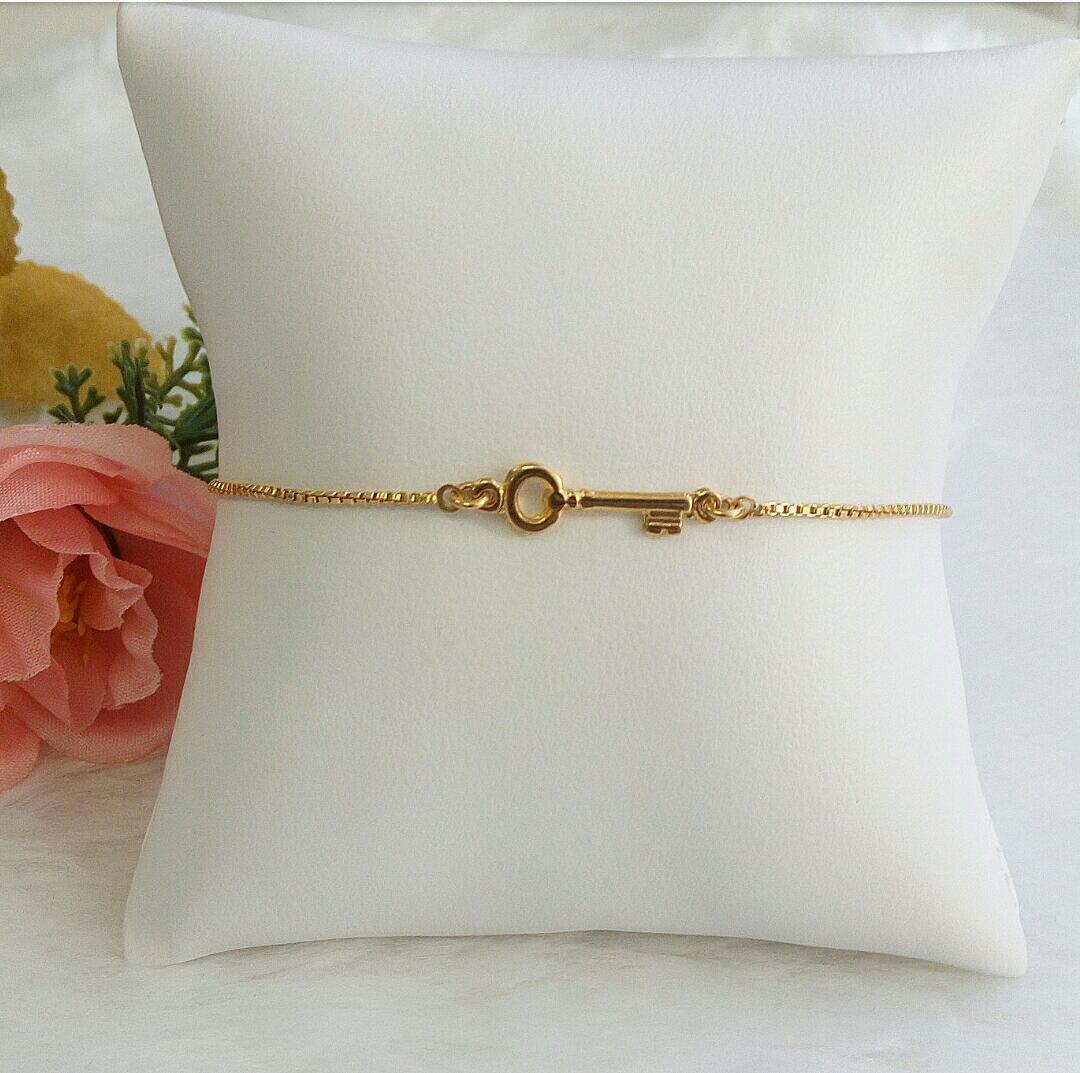 Pulseira Gravatinha Chave