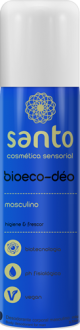 PERFUME MASCULINO AEROSOL BIOECO-DEO JATO SECO 166ML / 110G VEGANO