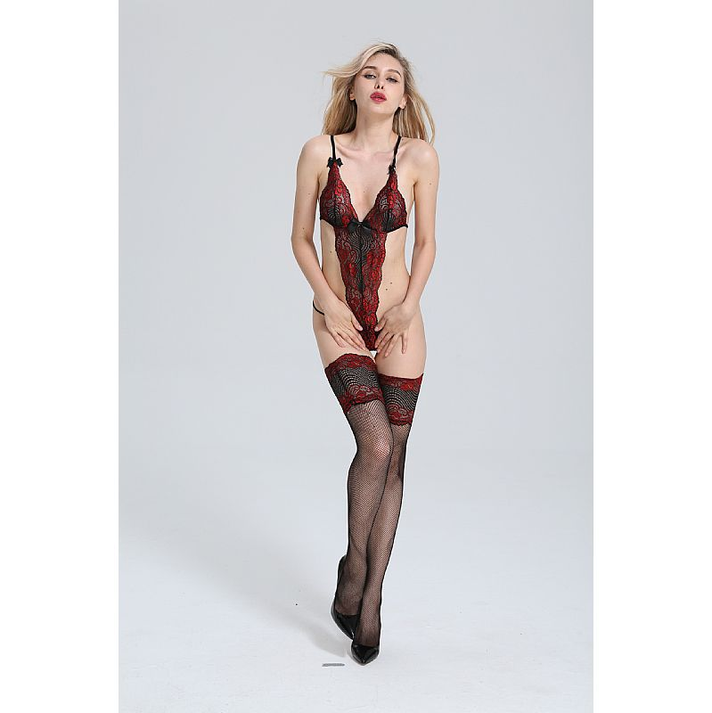 BODYSTOCKING BODY RENDADO  3613