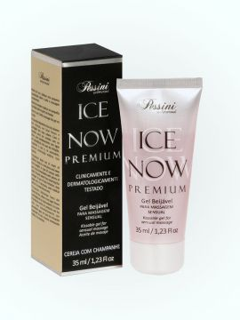 GEL BEIJÁVEL TÉRMICO ICE NOW PREMIUM CEREJA CHAMPAGNE 35ml