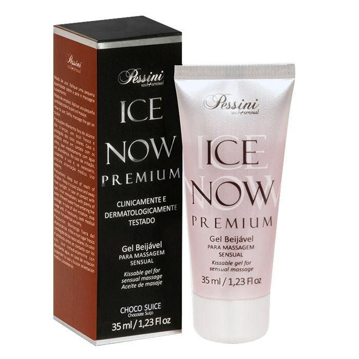 GEL BEIJÁVEL TÉRMICO ICE NOW PREMIUM CHOCO SUICE/SUIÇO 35ML