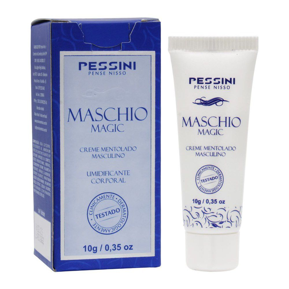 GEL EXCITANTE E PROLONGADOR MASCULINO MASCHIO MAGIC 10G