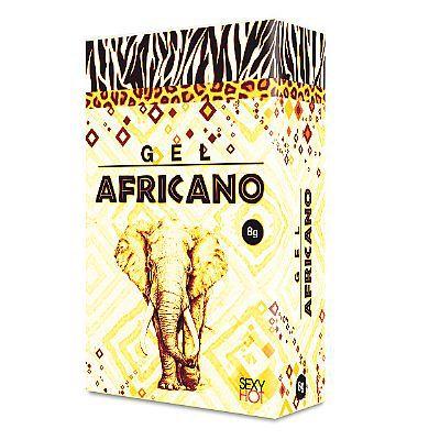 GEL LUBRIFICANTE EXCITANTE ANAL  AFRICANO 8G