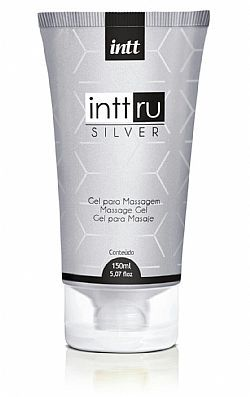 GEL PARA MASSAGEM INTT RU SILVER 150ML
