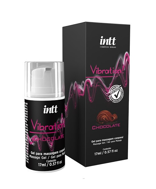 GEL VIBRATION CHOCOLATE 17ML