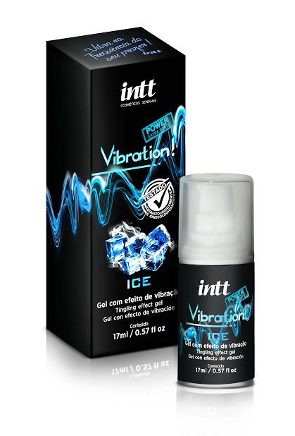 GEL VIBRATION ICE POWER EXTRA FORTE - LANÇAMENTO 17ML