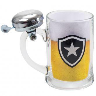 Caneca de Cerveja com Sineta Botafogo 380ml