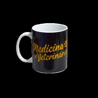Caneca Profissões em Porcelana Veterinária 300ml