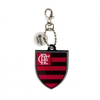Chaveiro com Mosquetão Flamengo
