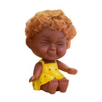 Cofre Bebê Sardas Amarelo