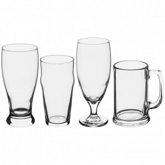 Conjunto com 4 Copos de Vidro para Cerveja Artesanal Libbey