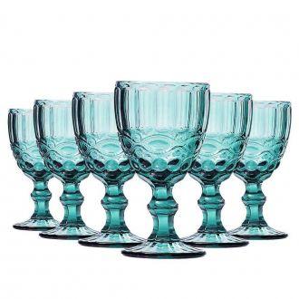 Conjunto de 6 Taças de Água Elegance - Tifanny 270ml