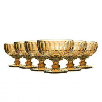 Conjunto de 6 Taças de Coquetel Elegance - Amber 310ml
