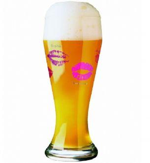 Copo de Vidro para Cerveja 500ml Wheatbeer Glass Nicole Winter 2010